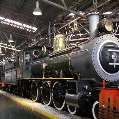 The George Outeniqua Steam locomotive