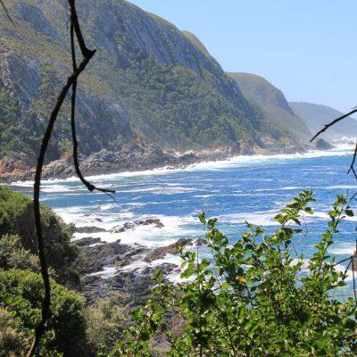Wild coast of the Garden Route