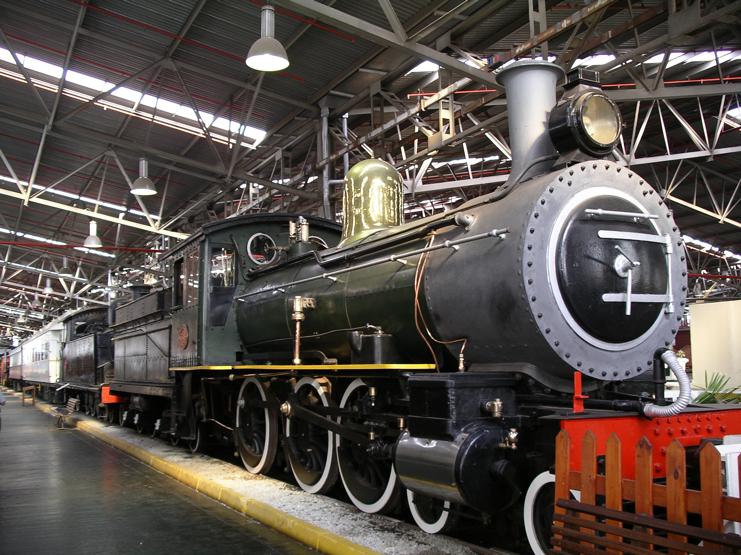 The George Outeniqua Steam locomotive